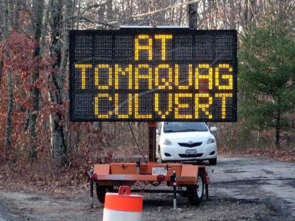 At Tomaquag Culvert