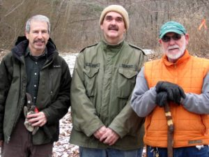This was my first hike with Don, Brian was at Sunrise Barrow to observe the Spring Equinox last year, and Rick and I are beginning to complete the other's thoughts, having traveled many miles together.