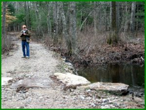4/2 Bob Miner looks back at calm outflow downstream
