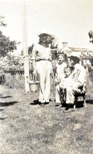 George and Fred Allen with me and my brother Phillip