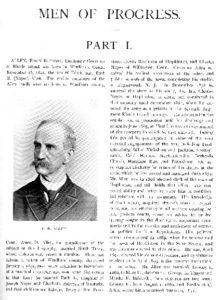 Edwin Allen, Man of Progress