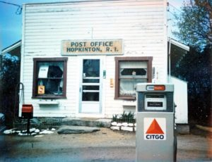 1969 Hopkinton Post Office and General Store
