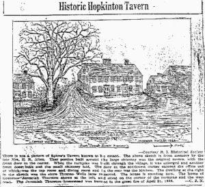 Historic Hopkinton Tavern