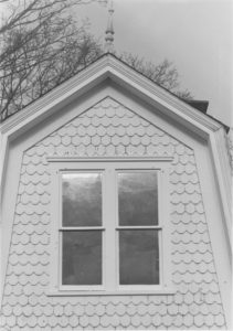 Gable of Taylor house